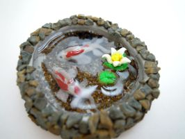 Koi Pond FINISHED 2 by SmallCreationsByMel