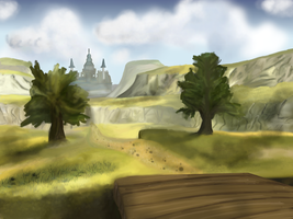 Hyrule Field by goodkitkat99