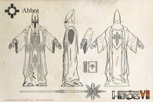 Haven Abbot (Heroes of Might + Magic VII) by m0zch0ps