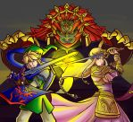 The Triforce Holders   by Mimibert
