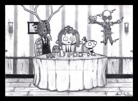 Lenore's Valentines Tea Party by Shadow-of-Desolation