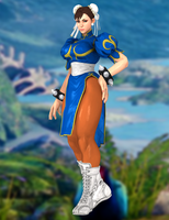 Chun-li(Default) Street Fighter V by XKammyX