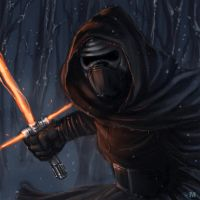 Star Wars The Force Awakens - Kylo Ren by BrokenNoah
