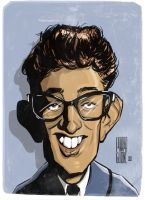 Buddy Holly by Parpa