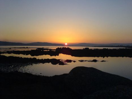 Exploring Annaghvaan Island, Galway at sunset by ColliFlower86