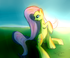 Flutterdoodle by DarkFlame75