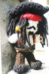 Amigurumi Jack sparrow Pirates of the Carribean by amiguGEEK