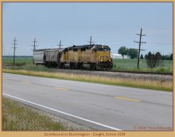 Southbound to Bloomington by classictrains