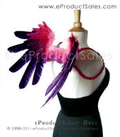 Purple Pink BREE Angel Wings by eProductSales