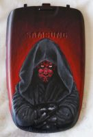 Darth Maul cell phone. by Mandalore-Knight