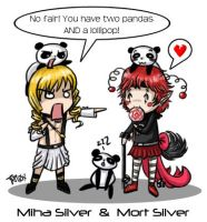 Gaia::Miha and Mort Silver by iPl0x