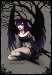 Dark fairy Gwen by Lily-wants-your-soul