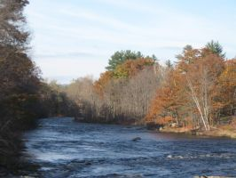Contoocook River by crazygardener