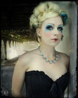 Antique Circus: Sapphire Clown by NightshadeBeauty