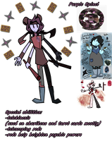 Gemsona Fusion: Purple Spinel by Marche-Towers