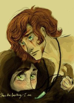 Finnick and Annie: In the end by xxIgnisxx