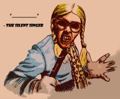 The Silent Singer by RoadKillBarbie