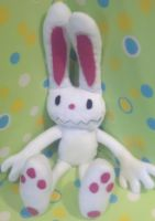 Sam and Max: Max Plush Commish by SowCrazy