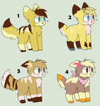 Percy x Deirdre Litter by Cuddly-Adopts