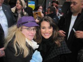 Me and  Lea Michele by lilkimmi27