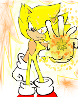 Super Sonic muro by ibella777