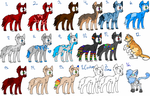 canine/feline adoptables  OTA (open) by wolfleader16