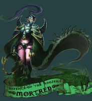 Mortred by kingchatu