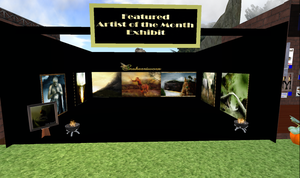 My first exhibition by snakeartworx