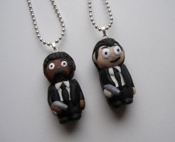Jules Vincent- Pulp Fiction Custom Necklaces by RavenMedia