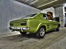 1969 Ford Capri 1600GT - Rear by ryn004