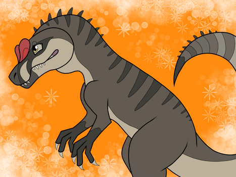 The Isle (Fanart) Allosaurus by AzayakaYuki