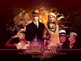 Bonnie and Clyde 1967 by debzdezigns-lamb68