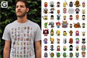 Supers T Shirt by ChamaCamisetas