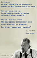 What I believe... by John Steinbeck by rationalhub