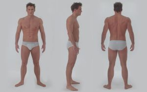 3D body modeling reference by DIGITALWIDERESOURCE