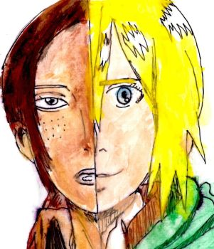 Ymir and Historia by Fran48