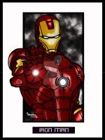 Iron Man by Rob32