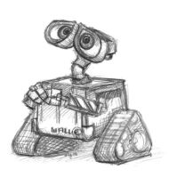 WALL-E by MegLyman