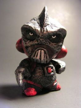 Custom Kidrobot Micro Munny SOGBORG!! by monsterforge