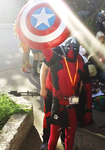 The Light of Justice..AMERICAN JUSTICE (AnimeNext) by ProjectCornDog