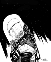 InkTober 5 - Mr.Freeze by NickRoblesArt