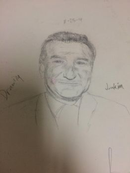 Robin Williams by james113001