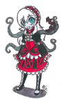TRADITIONAL: Okage: The Shadow King Styled Ally by InvaderIka