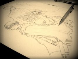 a working in progress of snk pic by ChocotanYuu