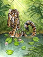 Tiger Lily by SilentRavyn