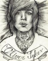 oli sykes by izy-billie