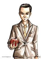 Jim Moriarty (Sherlock BBC) by Amegan