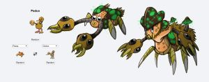 Fakemon Fusion Route 1 Bug Poke by Eternity9
