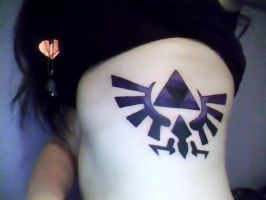 Legend of Zelda tattoo by BloodyXxBanshee