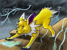 AT: Lightning Chaser by MadDerp